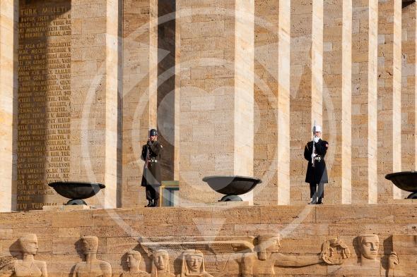 Guardsmen of Ataturk Mausoleum, Anitkabir