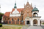 Image of monastery. Bernadine church and monastery, Radom, Poland