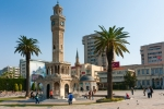 Image of Izmir. Konak Square, Clock Tower, symbol of Izmir