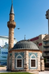 Image of mosque. Yali Mosque called Konak Mosque, Izmir