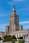Image of warsaw. Warsaw, Palace of Culture and Science