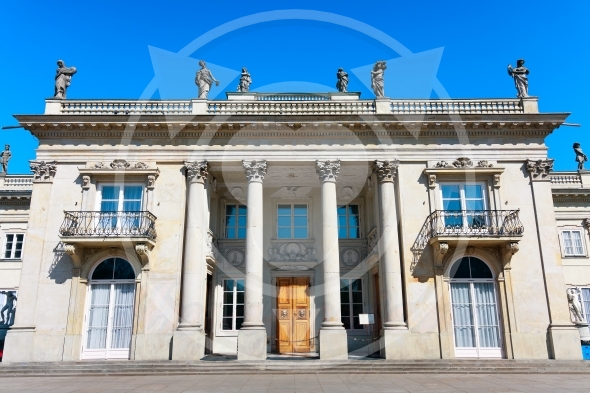 Neoclassical Palace on the Water, Warsaw