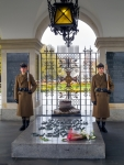 Image of guard. Guard post at the Tomb of the Unknown Soldier in Warsaw