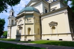 Image of christianity. Church of St. Anne in Wilanow. Neo-renaissance style