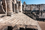 Image of stairs. Temple of Apollo in Didyma, Turkey