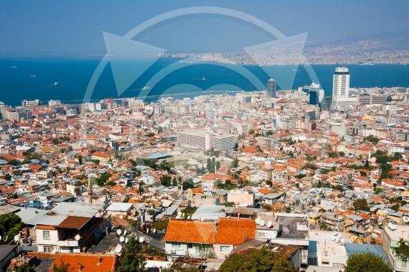 Izmir City, Turkey. Agora in the center