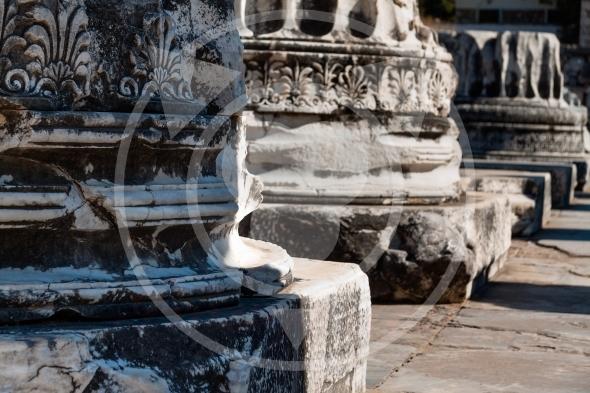 Temple of Apollo massive columns, Didyma