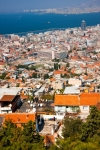 Image of cityscape. Izmir birds eye view