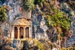 Image of Fethiye. Lycian tombs