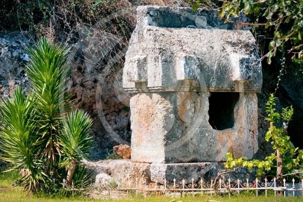 Lycian Tombs in Fethiye / Turkey