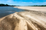 Image of Vistula. River and stream of sand – Vistula river