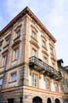 Image of tenement. Warsaw City – Old Town Market Place architecture