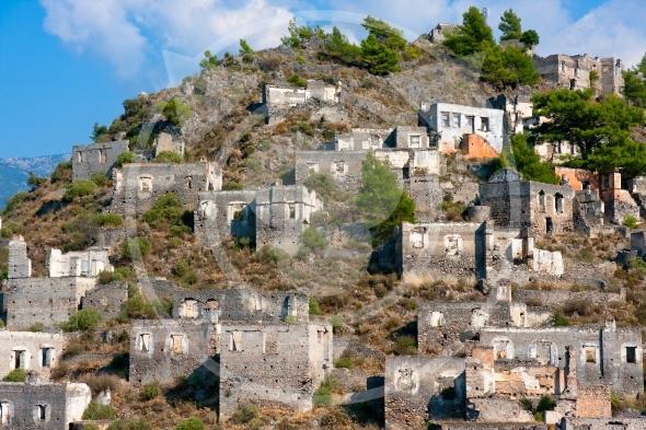 Kayakoy village near Fethiye, Turkey