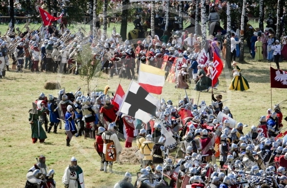 Armies clash at Grunwald