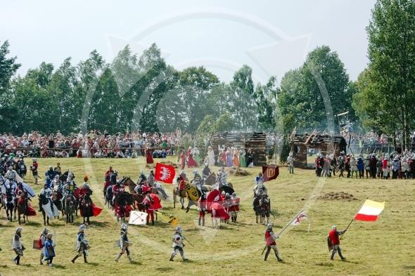 Polish King Wladyslaw Jagiello after victory, Battle Of Grunwald 1410