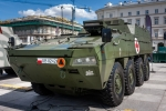 Image of ambulance. KTO ROSOMAK WEM, armored ambulance vehicle