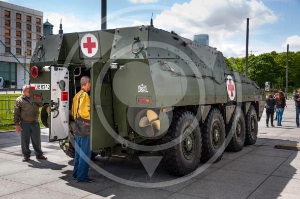 ROSOMAK Medical Evacuation Vehicle, Wolverine