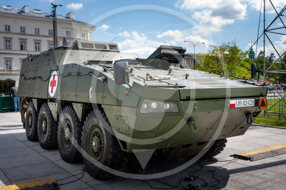 Medical Evacuation Vehicle KTO ROSOMAK WEM