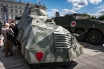 Image of wwii. Armored Car KUBUS, by the Polish Home Army AK