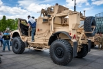 Image of matv. Oshkosh M-ATV, mine resistant ambush protected