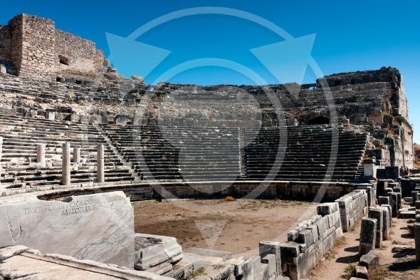 Miletus auditorium of ancient Greek theater