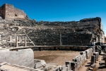 Image of auditorium. Miletus auditorium of ancient Greek theater