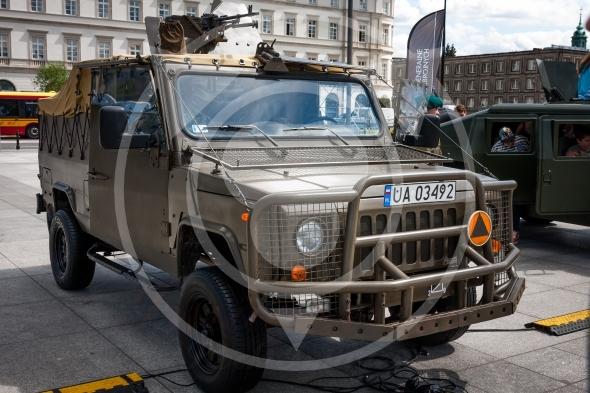 Honker 2000 Skorpion 3, all terrain pick up truck