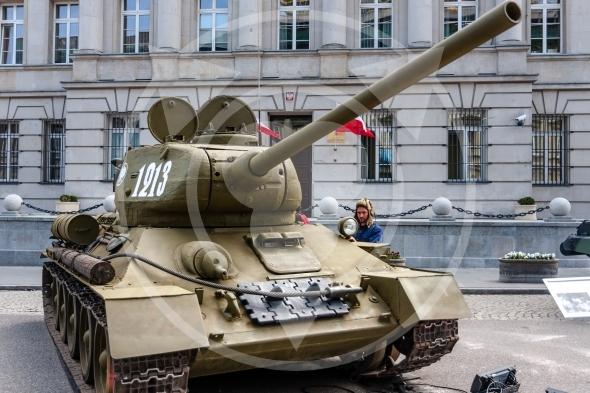 T-34 85 Soviet tank