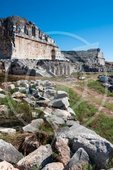 Miletus theater ruins, Turkey