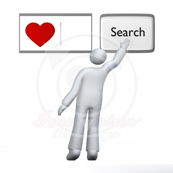 Looking for love – search input