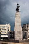 Image of Kosciuszko. Tadeusz Kosciuszko statue in Lodz, Poland
