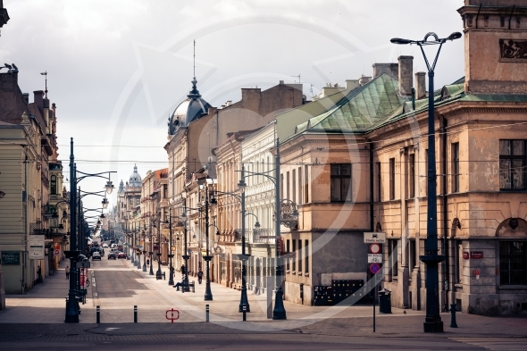 Lodz shown in the image