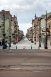 Image of passage. Lodz, Piotrkowska Street from the Liberty Square
