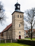 Image of Pisz. Church in Pisz Town, Poland