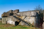 Image of fortress. Bunker from the First World War of the Osowiec Fortress