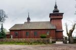Image of transfiguration. Kurdwanow Village Church, Poland