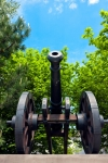 Image of vintage. Old Cannon Gun