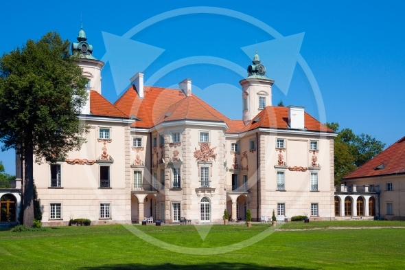 Baroque residence of Bielinski family in Otwock Wielki