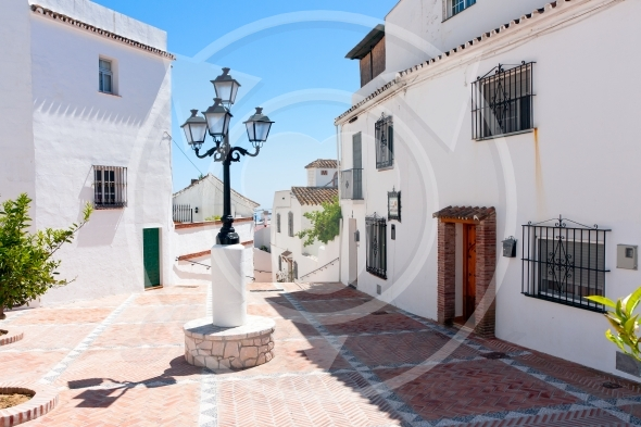 Mijas Pueblo,  white washed village