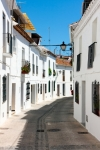 Image of Spain. Mijas streets, white washed houses