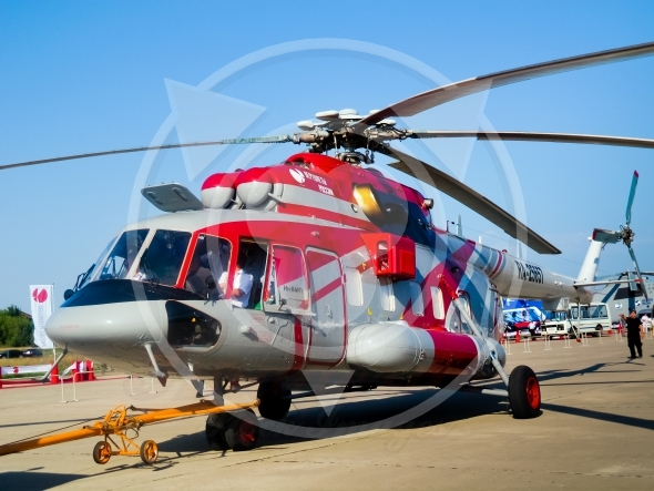 Helicopter Mi 8AMT transport, rescue, cargo