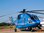 Image of chopper. Mi 38 helicopter, military and civil transport