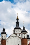 Image of steeple. Steeples of Suprasl Church
