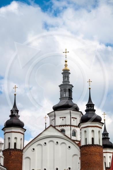 Steeples of Suprasl Church