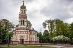 Image of byzantine. Cathedral of Alexander Nevsky in Lodz, Poland