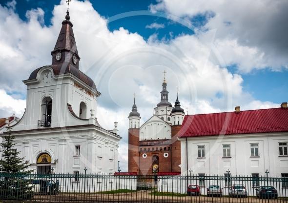 Suprasl Orthodox Church, bell tower gate