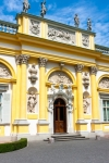 Image of facade. Wilanow Palace, Warsaw, Poland