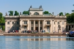 Image of royal. Palace on the Water in Lazienki Park, Warsaw