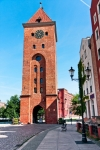 Image of tower. Elblag City, the Market Gate  XIVth, Poland