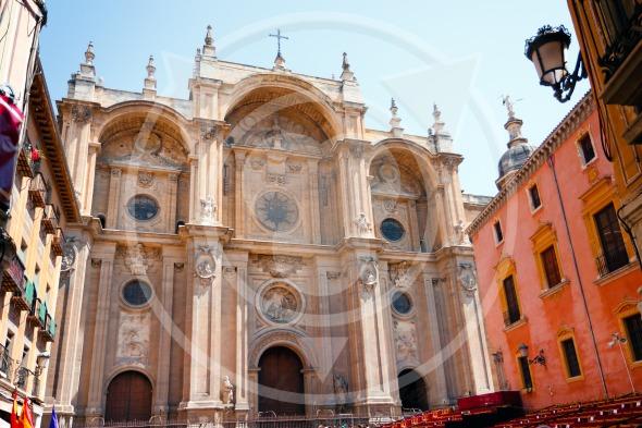 Granada Cathedral in Spain